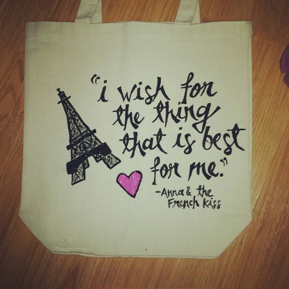 Pivot Book Totes Anna and the French Kiss