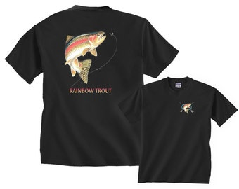 Rainbow Trout Shirt Profile