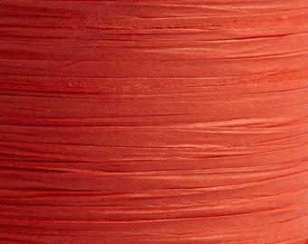 10m x 7mm Red Paper Tying Raffia Ribbon