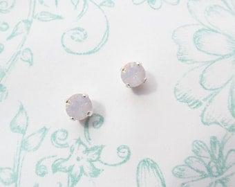 Earrings vintage Strawberry cream drops