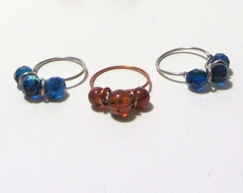 Simple 3 Bead Ring