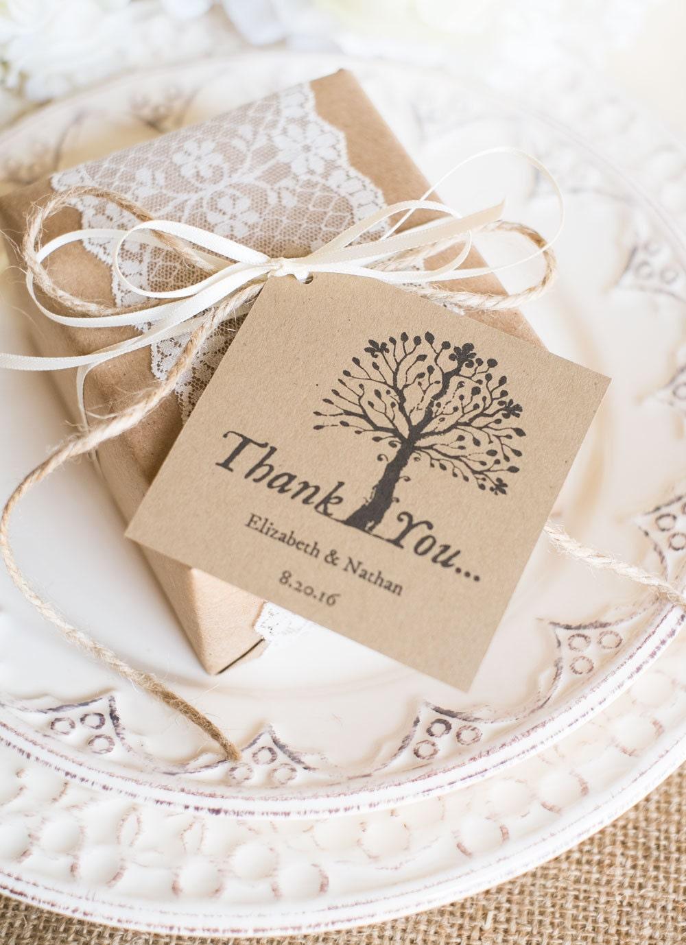 Wedding Favor Tags Printable Favor Tag Template Kraft Paper