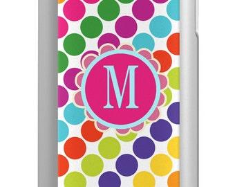 iPhone 6 5/5s Phone Case Mophie Juice Pack Air Helium  - Stripe Dots - Monogrammed iPhone 6 Case Custom Phone Case