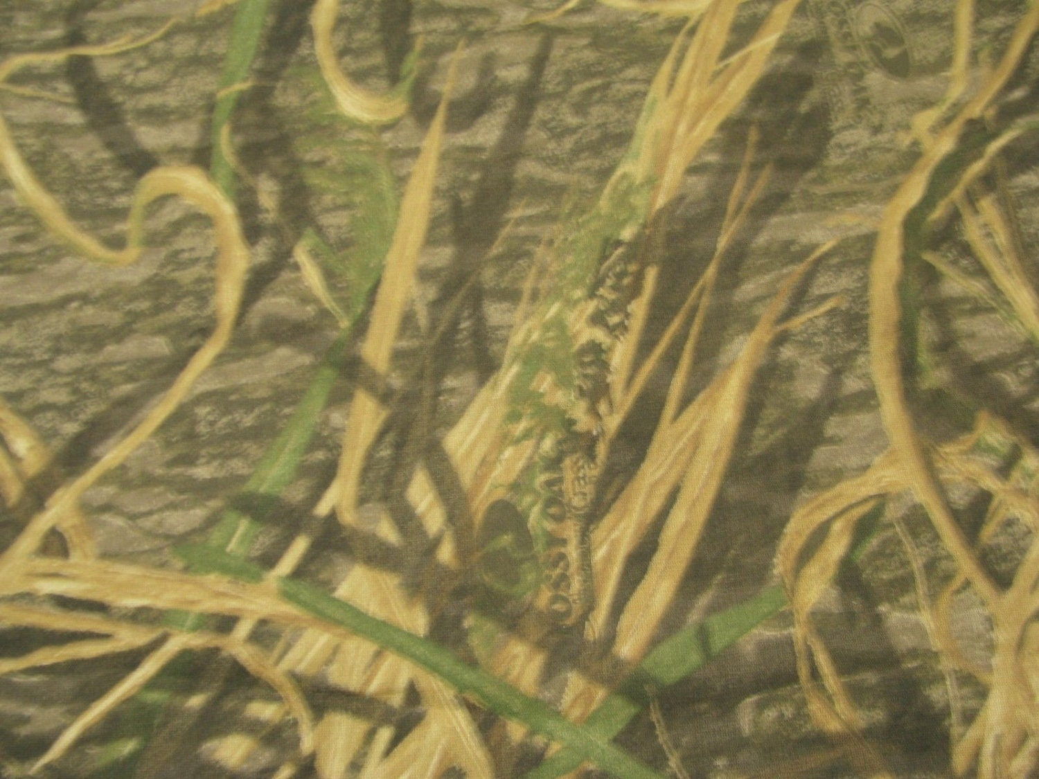 Mossy Oak Shadow Grass Hunting Camouflage Poly Cotton