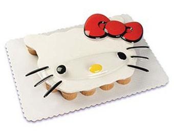 Hello Kitty Face Pop Top Cake Topper Decor Set - HK28/K4