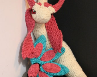 Milotic Plush Doll - Crochet