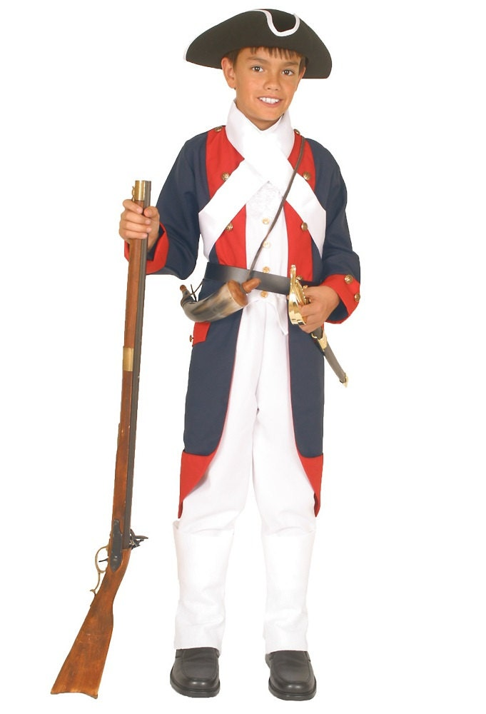 Boys Revolutionary War Costume American By Heritagecostumes