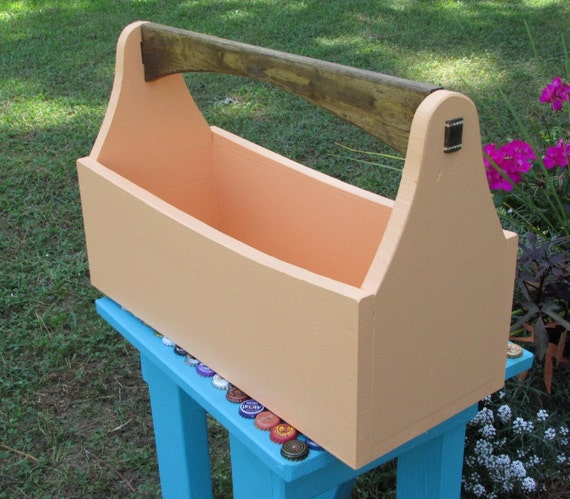Old Fashioned Wooden Tool Box