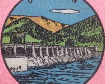 Vtg Bonneville, Oregon Souvenir Pennant