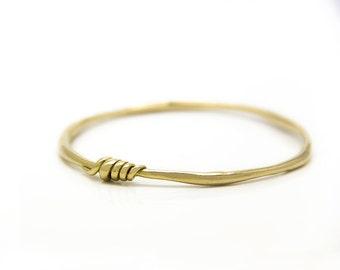 Decorated 18k Gold bangle, Solid gold bracelet, Women bracelet, Bridal jewelry, Chunky gold bangle, Women's bangle bracelet, Unique bangle