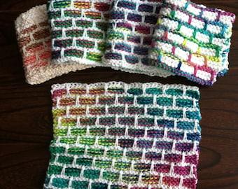 Cotton Brick Dish Cloth
