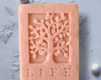 Life Tree Soap Mold Silicone Soap Mold Letters Soap Mold Candle Mold Silicone Soap Mold Tree Silicone Mold