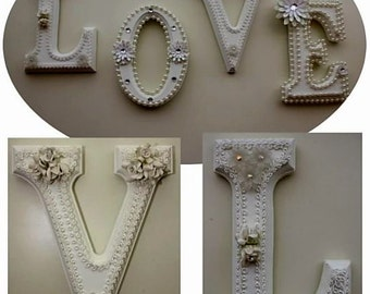 Decorative wall letters, wall letters, personalized gifts, nursery letters