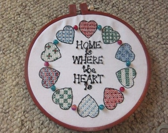 Home is where the heart is sampler