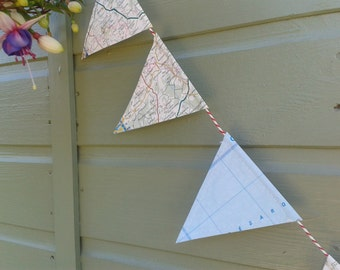 Map Bunting London or France