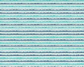 Riley Blake Snap Shots Collection navy and teal striped waves BTY
