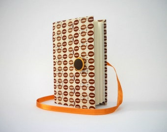 Dotted journal notebook Handmade journal lined journal Brown dots journal notebook writing journal diary agenda journal diary coffee beans