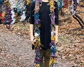 ready to ship // super long scarf / multi colours / by replicca / one size