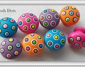 POLKA DOT Posh Knobs...Priced Per Knob