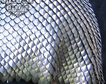 Order by the inch - Small Scale Steel Scalemail - FREE SHIPPING