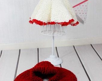 CROCHET PATTERN For Baby Dress, Cape & Booties Crochet Pattern PDF 162 Digital Download
