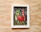 Three BLT Graces - Bacon, Lettuce, and Tomato Botticelli - 5x7 Print