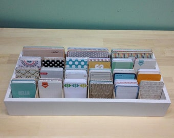 Large Journaling Card storage for project life type cards holds 3780 cards