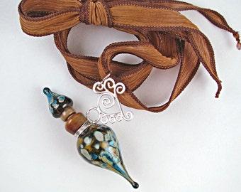 Neptune's Daughter Lampwork Vessel Necklace