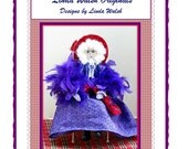 Celia The Red Hat Society Victorian Art Doll E-Pattern