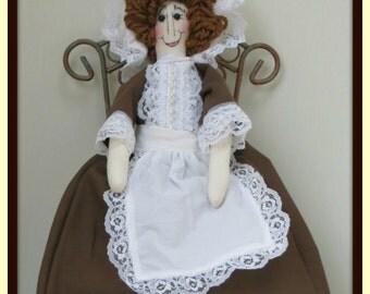 Colonial Prudence Handmade Girl Art Doll
