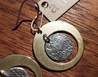 Circle, Earrings, Vintage, Lace, Texture, Elegant, Timeless, Design, Subtle, Beauty, Goes with everything, Bronze, Sterling, Silver, Classic