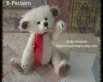 "Instant Download PDF Pattern - ""Clayton"" sewing craft by Judy Johnson, BCD -  7.5"" jointed"