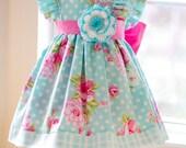 Girls Infant Toddler Easter Evelyn Dress  - Size 1-5