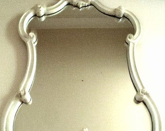 Vintage Large Baroque French Style Mirror