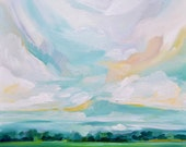 To The Stillness: Fine Art Painting Reproduction of oil landscape