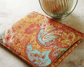 Tablet Accesories, ipad sleeve, ipad case, ipad cover, ipad mini, samsung sleeve - in Mango Paisley