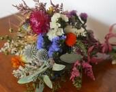 Dried flower sampler , dried flower sample, flowers samples, dried flower bouquet, modern decor, modern wedding, wedding decor