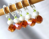 River Song - Doctor Who Companions Series - Five Handmade Stitch Markers - Fits Up To 10.5mm (10.5 US) - Limited Edition
