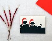 Mad Men Christmas Cards, Retro Christmas, Mad Men Card