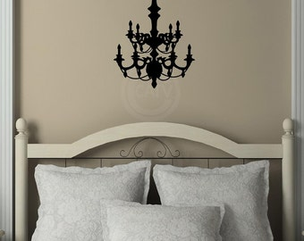 Chandelier A Customizable Wall Decal vinyl lettering quote sticker home decor