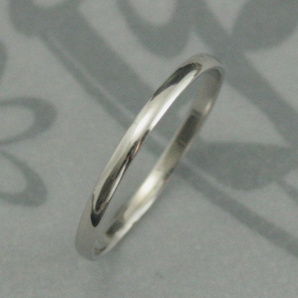 platinum ring platinum wedding band Platinum Wedding Band Platinum Skinny Minnie Plain Jane Ring Solid Platinum 1 5mm Rounded Traditional Band Thin Platinum Band