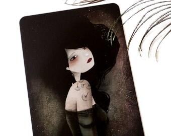 Lily - Postcard