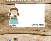Wizard of Oz Party - Set of 8 Dorothy Thank You Cards by The Birthday House