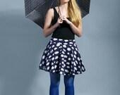 "Retro skirt Skirt sixties skirt cloud ""angel's Dust"""