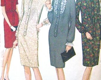 1960s Dress Pattern  McCall's 8047
