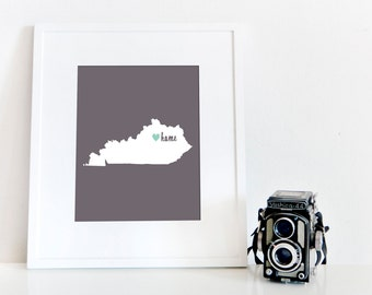 Lexington is My Home // 8x10 Digital Kentucky Print