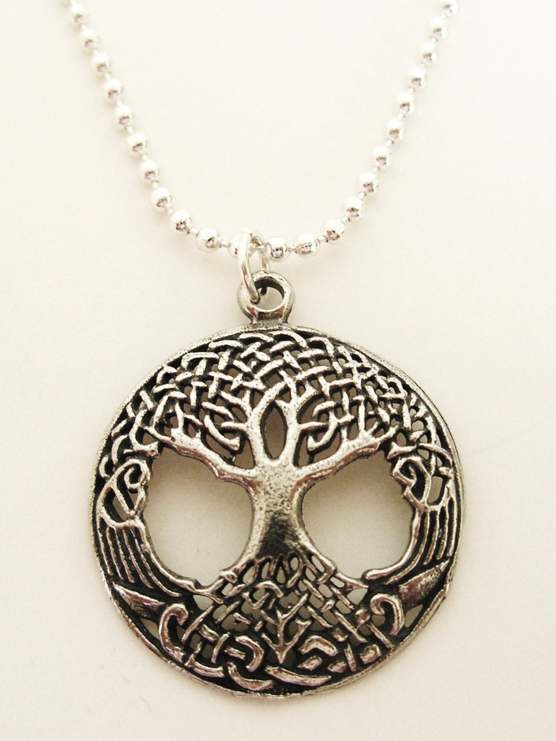 celtic tree of silver necklace ireland jewelry