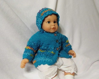 Turquoise Blue Sweater Set size  3 6 9 months
