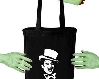 Voodoo Sugar Rocky Horror Picture Show Columbia RHPS Black Tote Bag