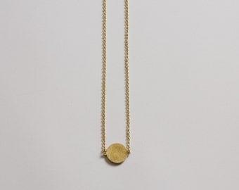 1 Shape Geometric Brass Necklace (Small)